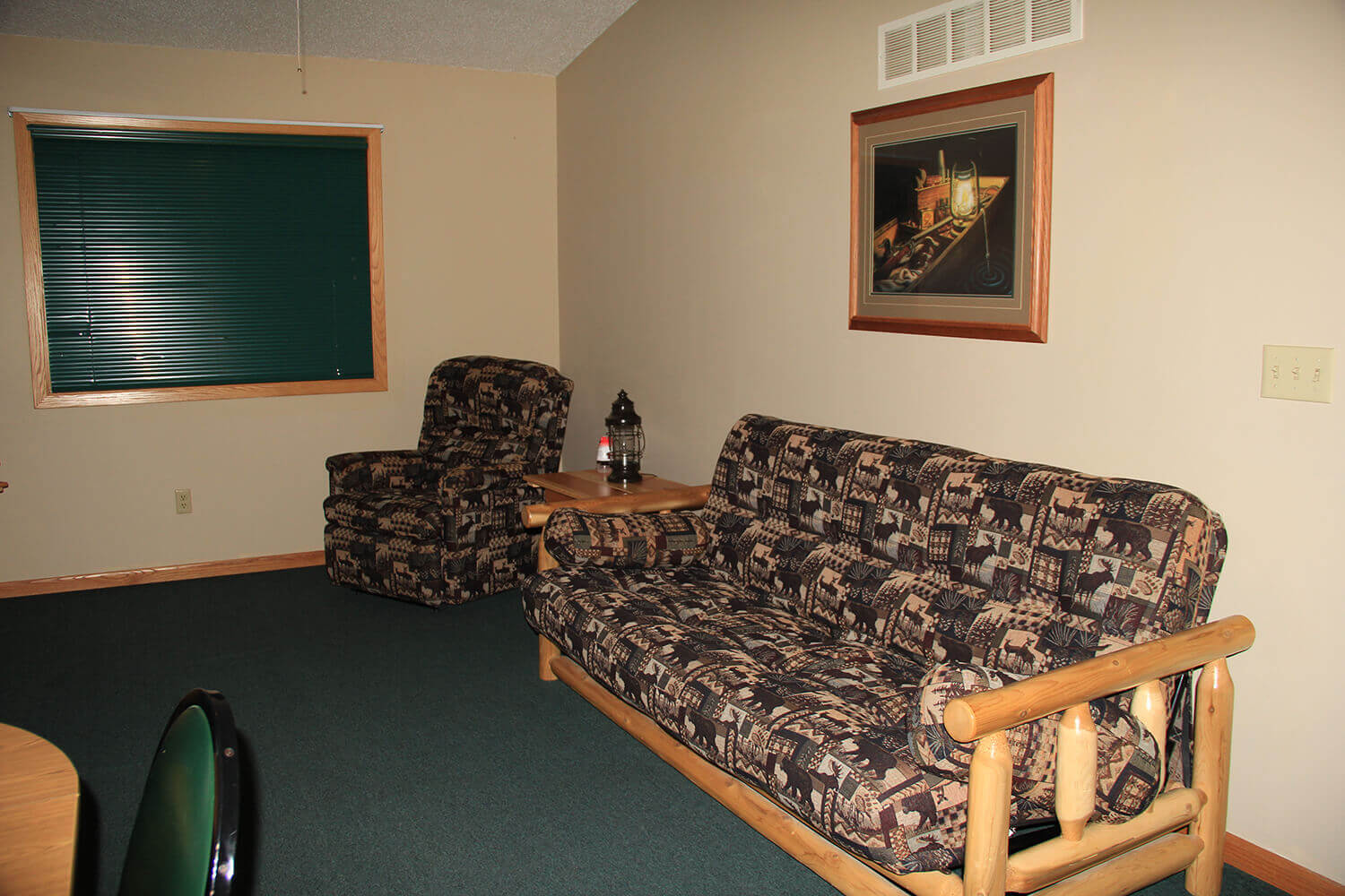 Cabin 3 Family Room on Mille Lacs Lake