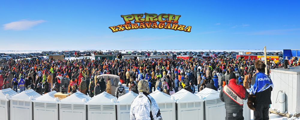 The Mille Lacs Lake Perch Fishing Tournament Perch Extravaganza happens at Nitti's Hunters Point Resort