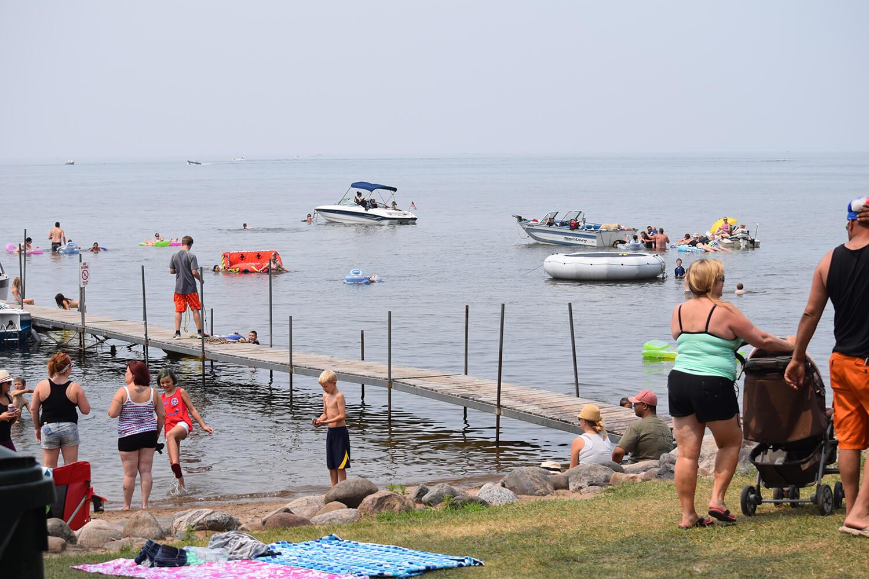 Mille Lacs Beach Area