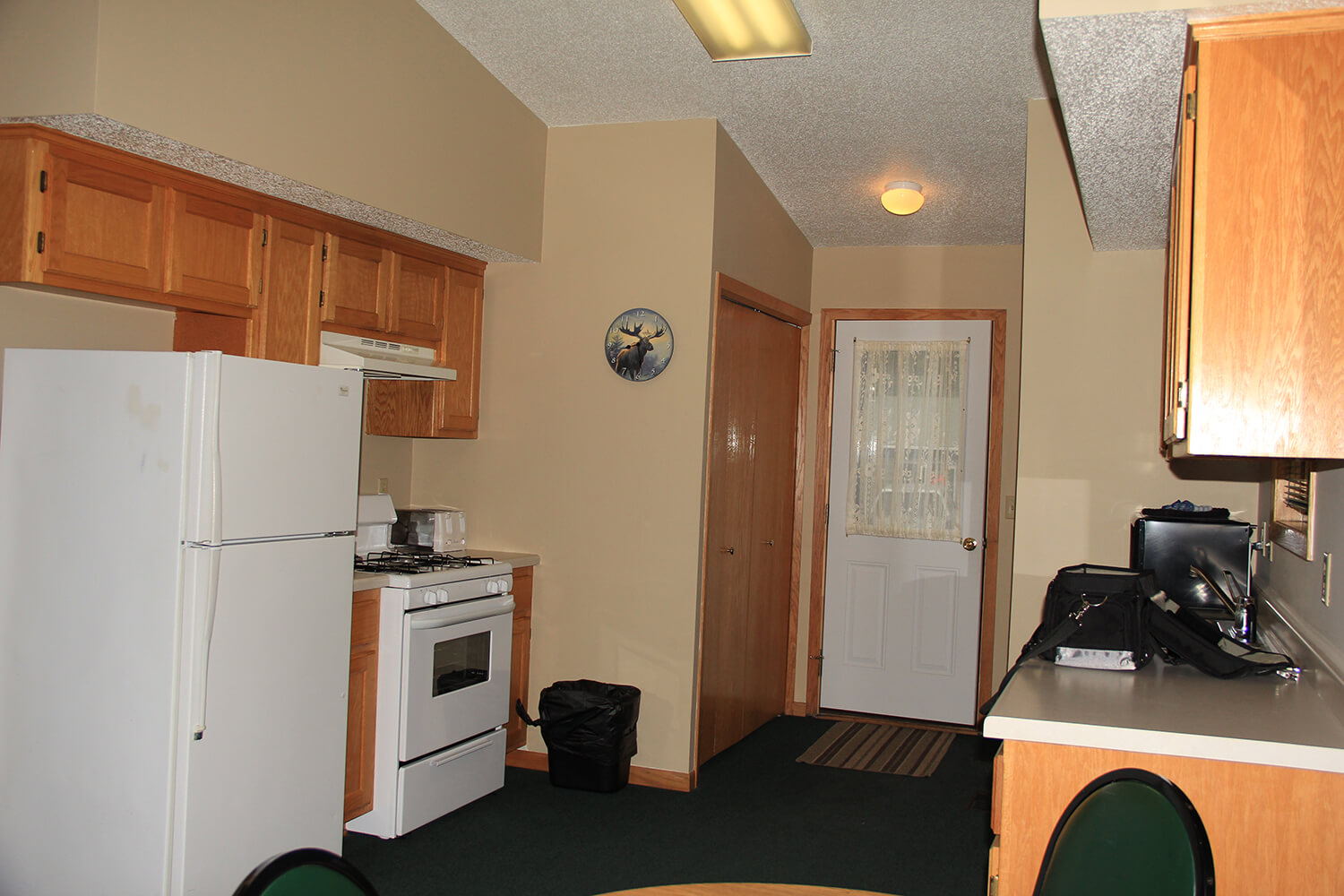 Motel Kitchen on MIlle Lacs Lake