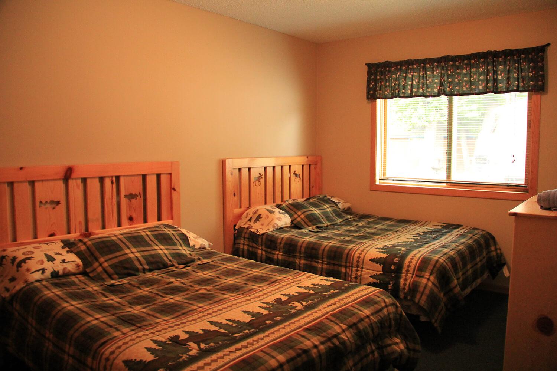 Cabin 4 Bedroom 2 on Mille Lacs Lake, Minnesota