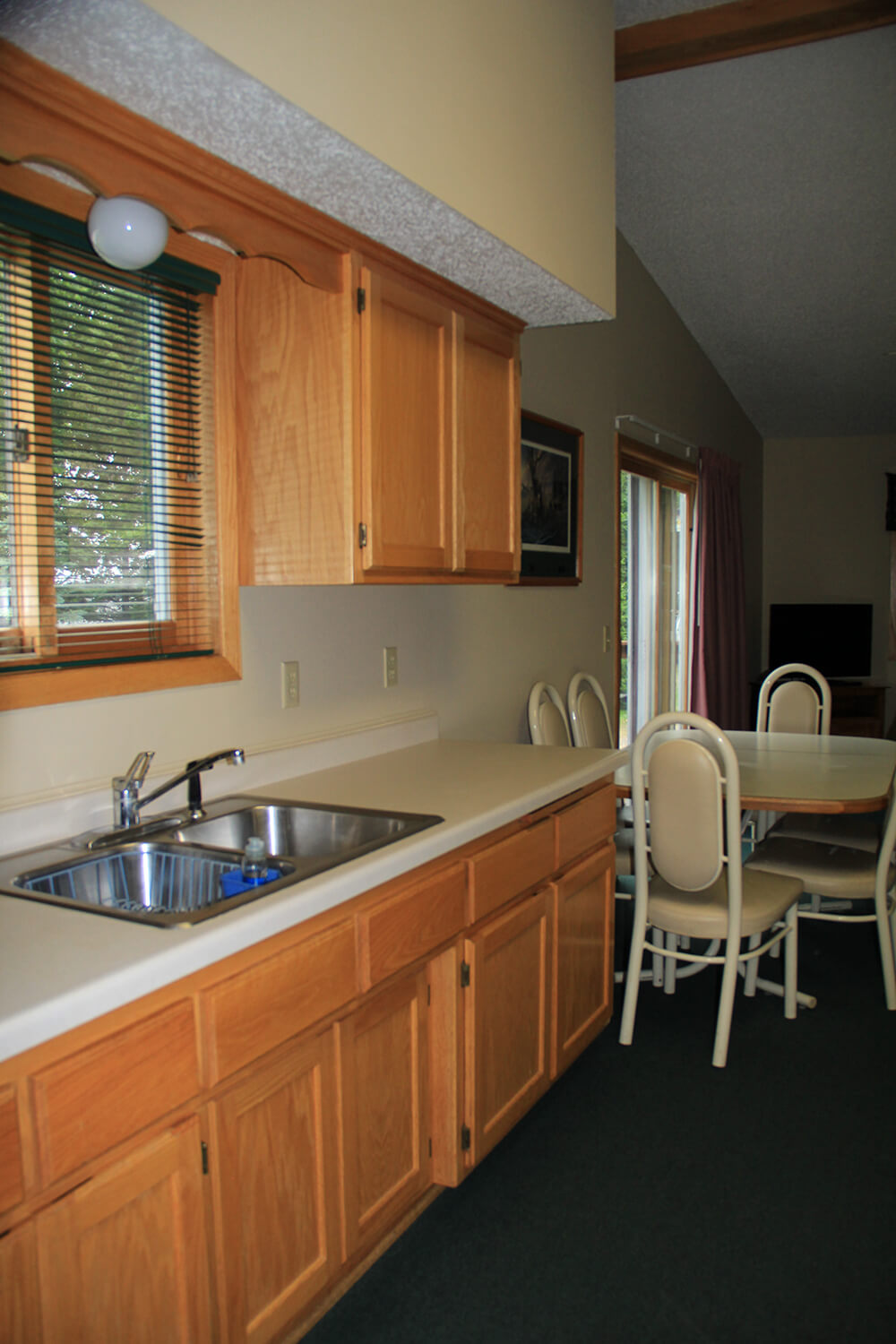 Cabin 4 Sink Area on Mille Lacs Lake