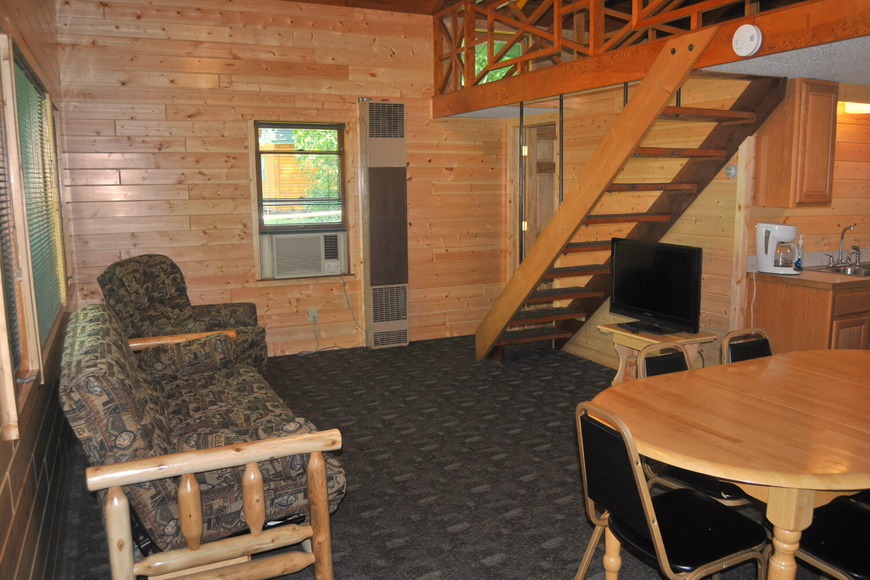 cabin 5 living room 1