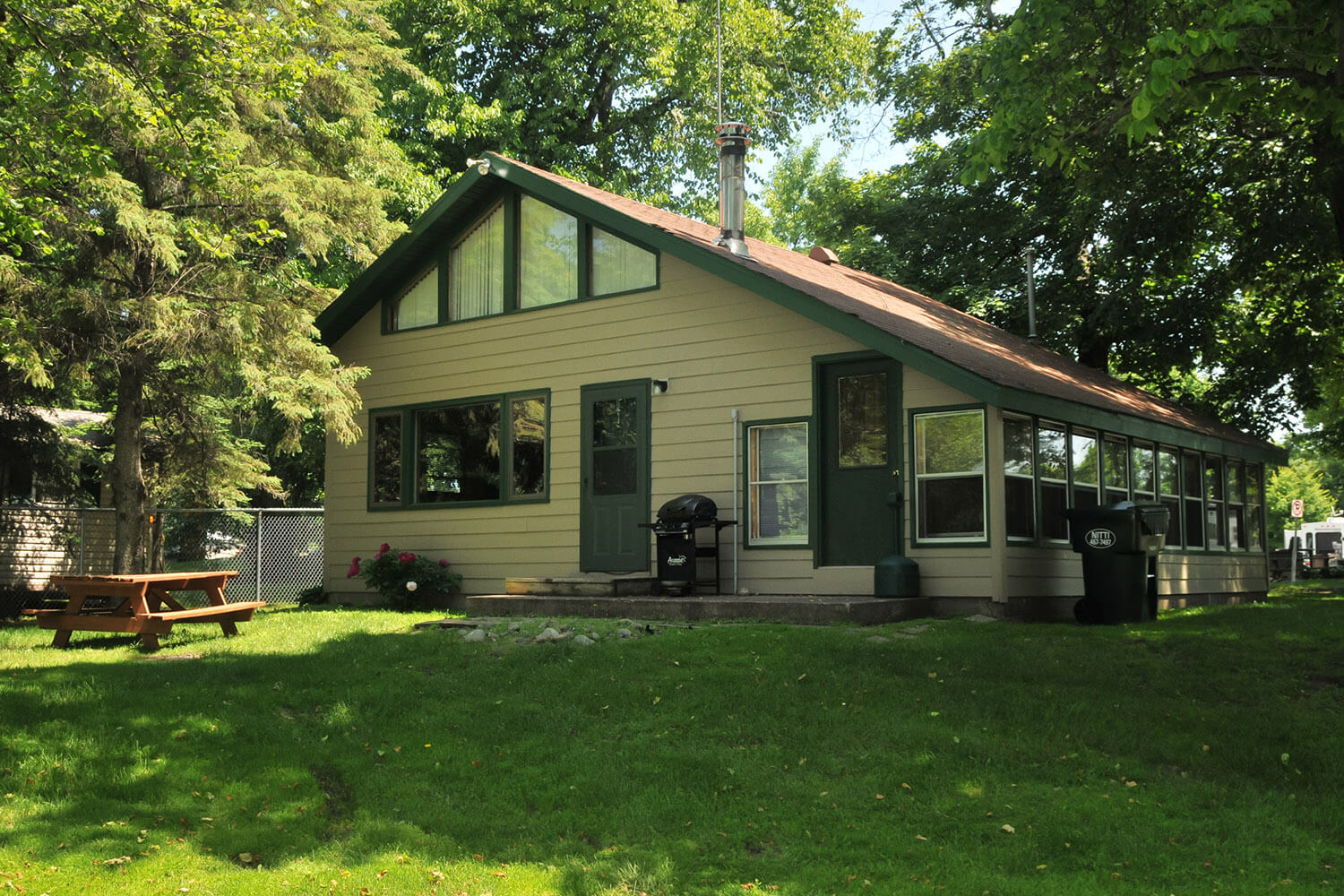 Cabin 5 on Lake Mille Lacs