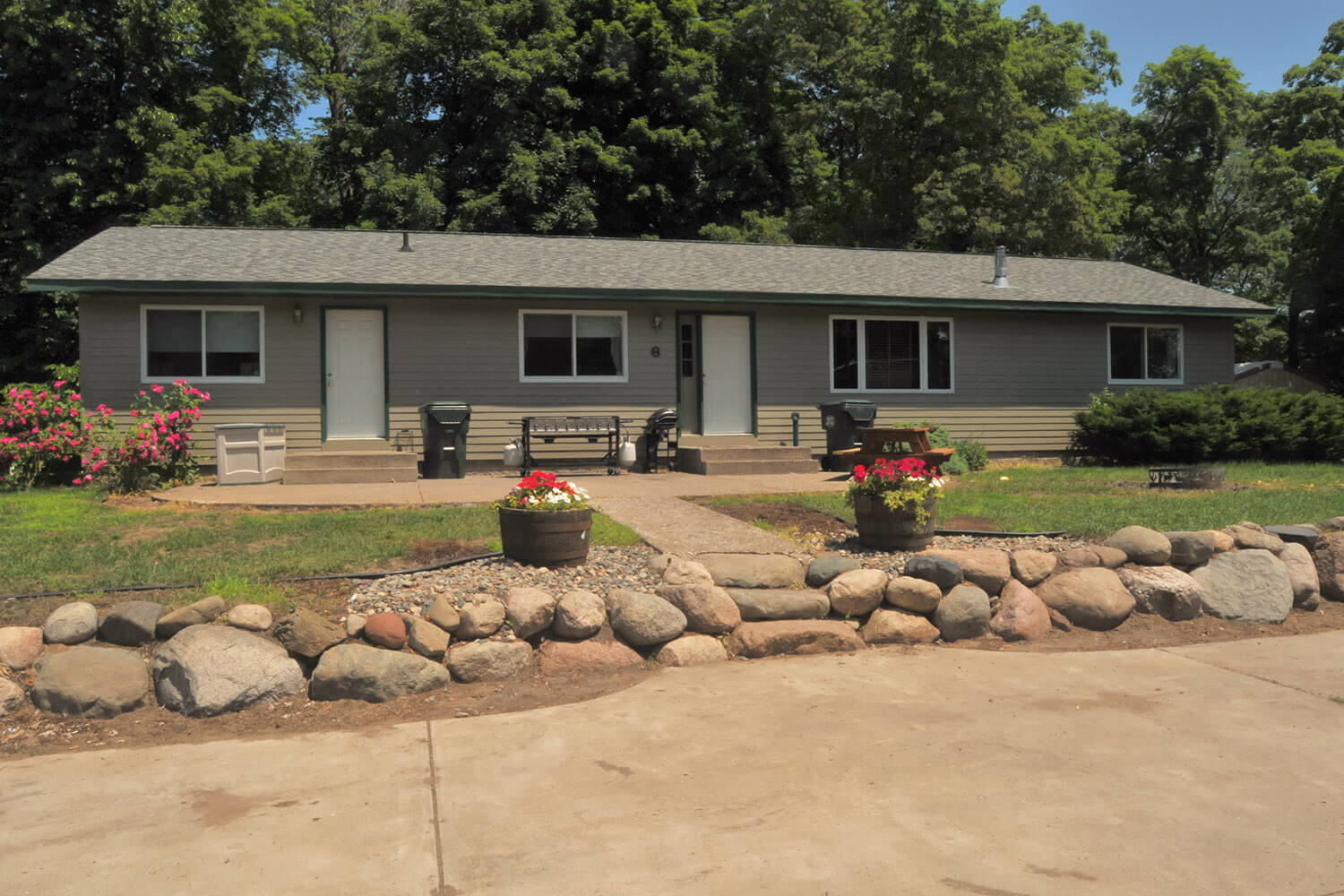 Cabin 6 at Hunters Point on Mille Lacs Lake