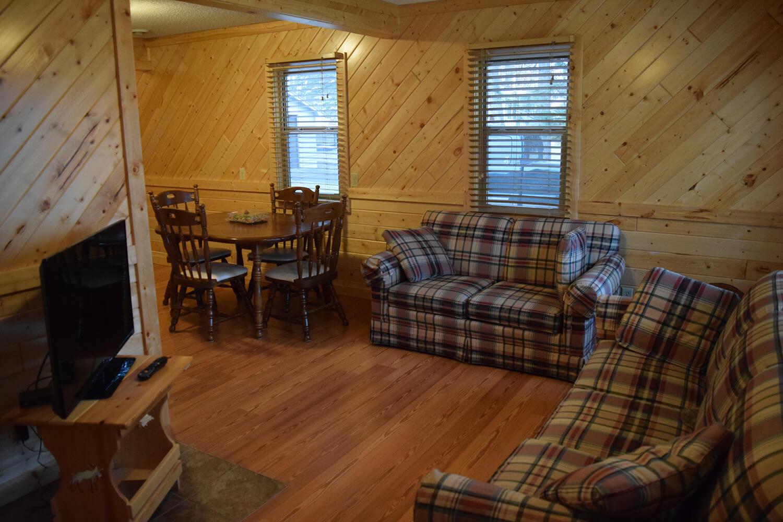Cabin 8 Living Room