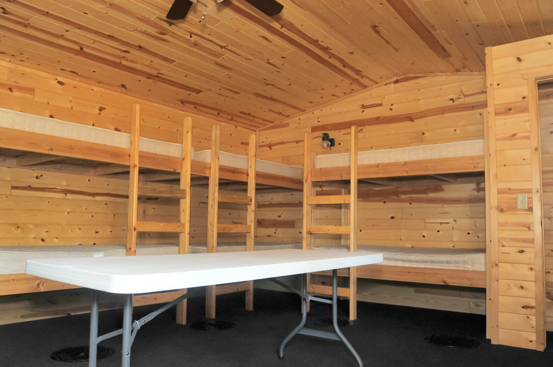 Inside Bunk House