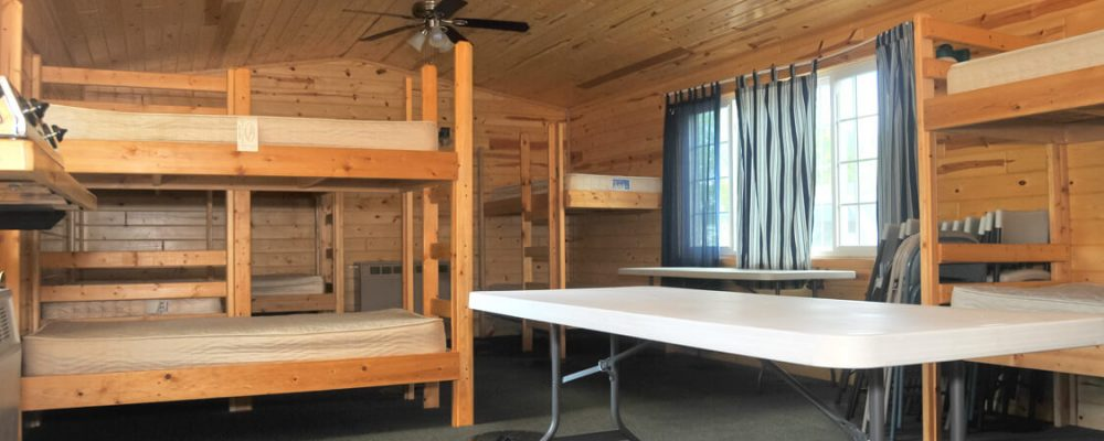 Beds in Bunk House