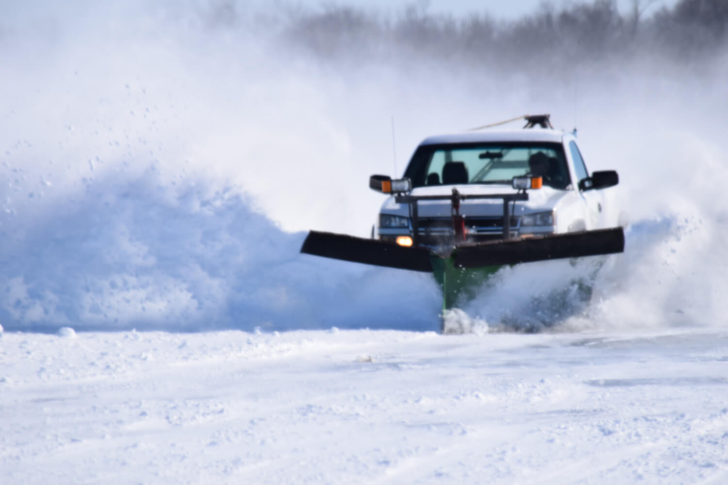 Ice Road Access Mille Lacs Lake