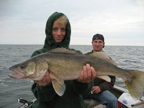 Walleye at Mille Lacs Lake Fishing Tournament