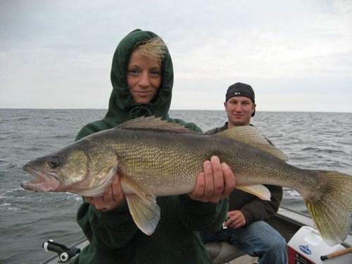 Walleye at Mille Lacs Lake Fishing Tournament