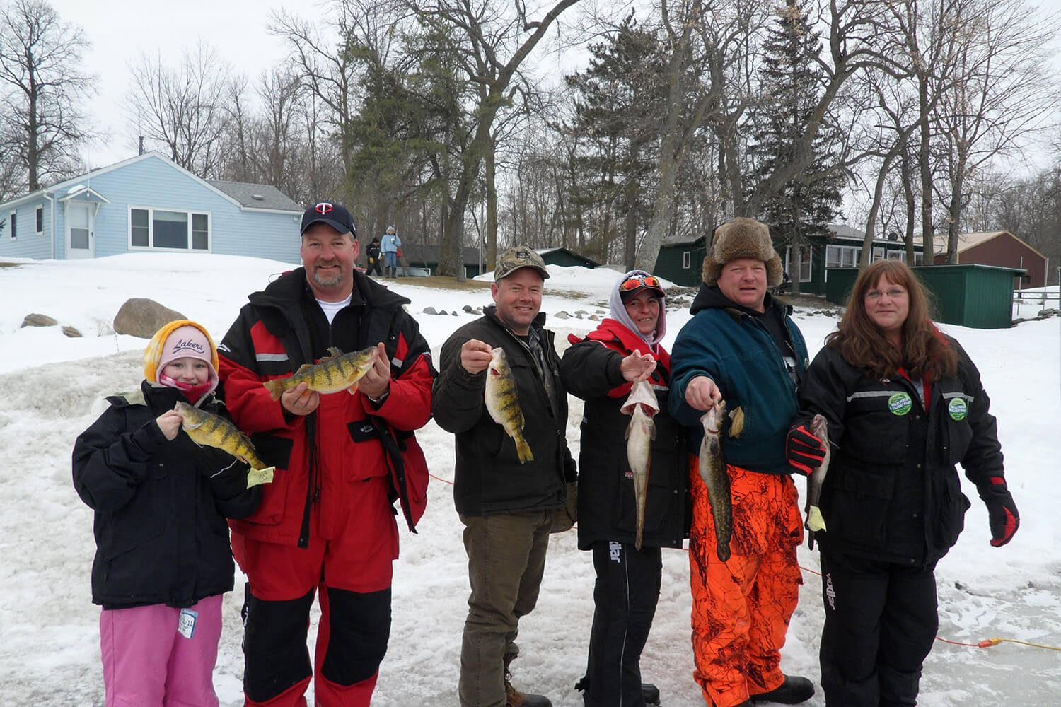catch lots of perch on lake mille lacs