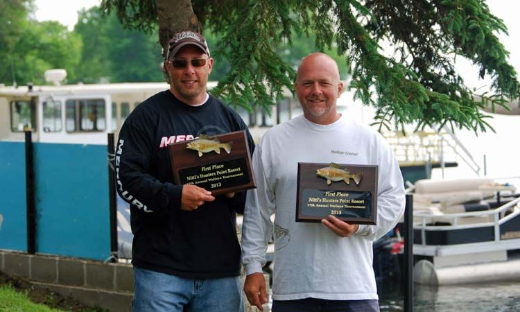 Walleye tournament on Lake Mille Lacs at Hunters Point