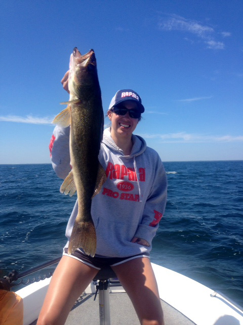 walleye ashley