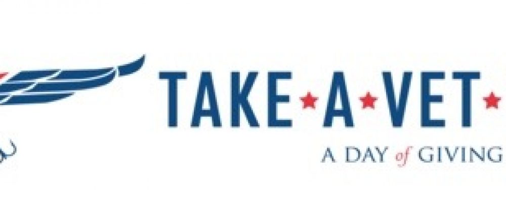 Take A Vet Fishing Logo