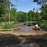 ATV Through Mud