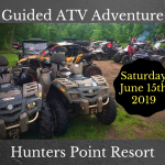 Guided ATV Adventure *Saturday, June 15th, 2019*