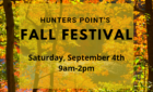Fall Festival *Saturday, September 4th*